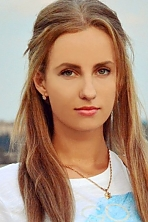 Ukrainian girl Polina,23 years old with green eyes and blonde hair.