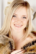 Ukrainian girl Tatiana,19 years old with blue eyes and blonde hair.