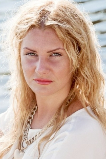 Russian girl Irina,33 years old with blue eyes and blonde hair.