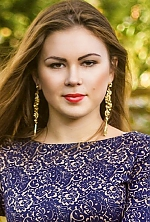 girl Elizaveta , years old with  eyes and  hair.