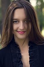 Ukrainian girl Oksana,22 years old with blue eyes and light brown hair.