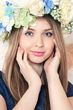 Ukrainian girl Anfisa,25 years old with green eyes and blonde hair.