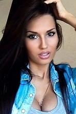 Ukrainian girl Valeriya,23 years old with brown eyes and black hair.