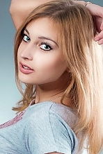 Ukrainian girl Viktoriya,23 years old with blue eyes and blonde hair.