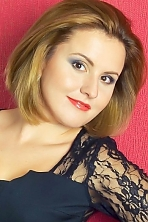 Ukrainian girl Lubov,25 years old with brown eyes and light brown hair.