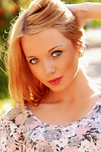 Ukrainian girl Juliana,24 years old with blue eyes and blonde hair.