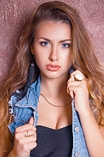 Ukrainian girl Katerina,19 years old with  eyes and  hair.