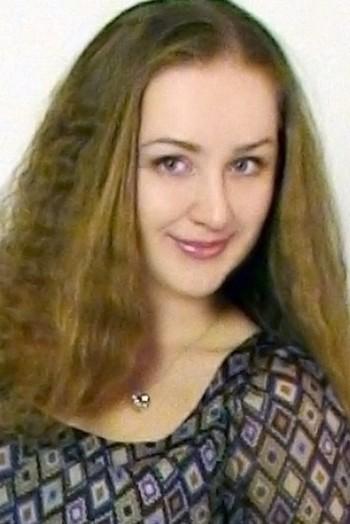Ukrainian girl Lyudmila,31 years old with grey eyes and light brown hair.