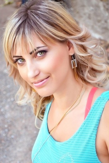 Ukrainian girl Valentina,28 years old with green eyes and blonde hair.