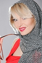 Ukrainian girl Alesya,35 years old with brown eyes and blonde hair.