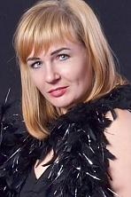 Ukrainian girl Galina,36 years old with blue eyes and light brown hair.