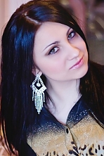 Ukrainian girl Yulia,26 years old with brown eyes and black hair.