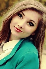 Ukrainian girl Victoria,21 years old with grey eyes and blonde hair.