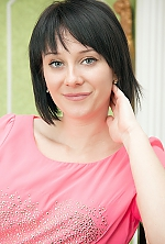 Ukrainian girl Mariana,26 years old with blue eyes and black hair.