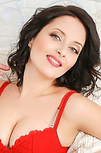 Ukrainian girl Elena,40 years old with grey eyes and dark brown hair.