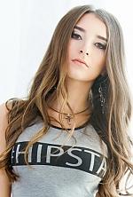 Ukrainian girl Anya,23 years old with  eyes and  hair.
