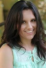 Ukrainian girl Dariya,26 years old with hazel eyes and dark brown hair.