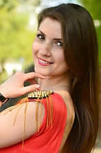 Ukrainian girl Karina,27 years old with brown eyes and dark brown hair.