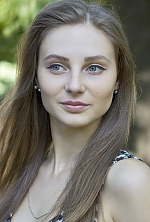 Ukrainian girl Daria,24 years old with blue eyes and light brown hair.