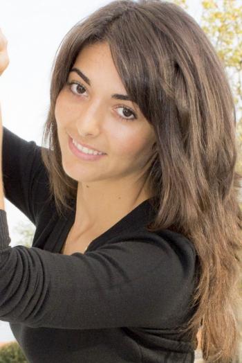 girl Evdokiya, years old with  eyes and  hair.