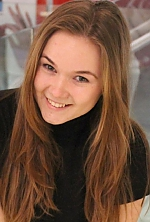 Ukrainian girl Alla,23 years old with green eyes and light brown hair.