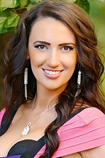 Ukrainian girl Yaroslava,28 years old with hazel eyes and dark brown hair.