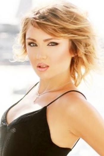 Ukrainian girl Mariya,24 years old with blue eyes and blonde hair.