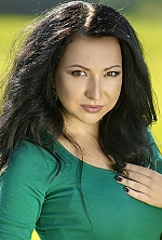 Ukrainian girl Daria,26 years old with brown eyes and black hair.
