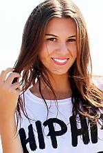 Ukrainian girl Catherine,24 years old with hazel eyes and dark brown hair.