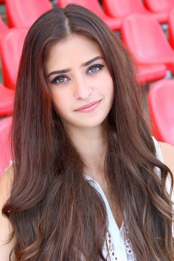 Ukrainian girl Alina,24 years old with  eyes and  hair.