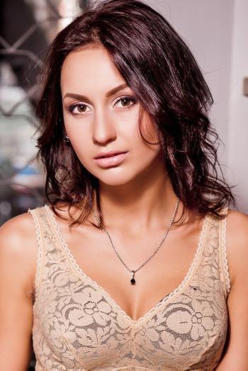 Ukrainian girl Valerya,23 years old with brown eyes and dark brown hair.