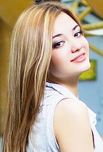 Ukrainian girl Daria,21 years old with hazel eyes and light brown hair.