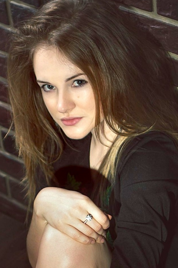 Ukrainian girl Natalia,22 years old with green eyes and blonde hair.