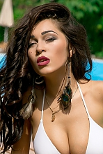 Ukrainian girl Olesya,24 years old with  eyes and  hair.