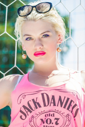 Ukrainian girl Ruslana,28 years old with green eyes and blonde hair.
