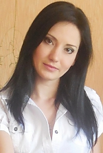 Ukrainian girl Ekaterina,31 years old with brown eyes and black hair.
