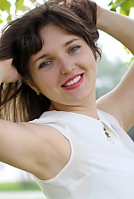 Ukrainian girl Yana,26 years old with blue eyes and light brown hair.