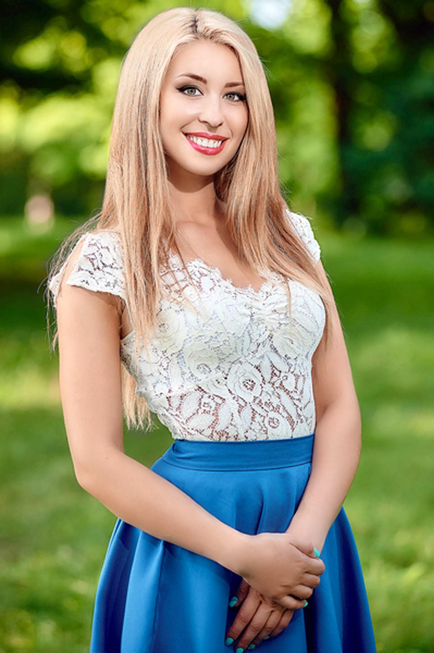 Ukrainian Single Girl (Bride): Yana eyes, 24 years old